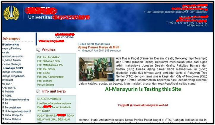 Dasar Web Hacking Hasil dari Local XSRF