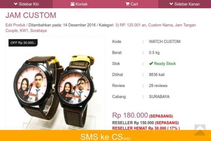 jam tangan pasangan online