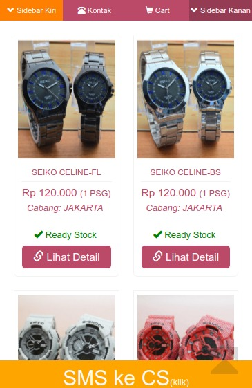 toko jam tangan couple timepieces